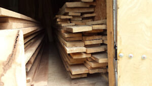 350 BF Of Hard Maple,   Rough Sawed Lumber,   For Sale