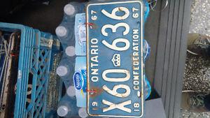 License plates Windsor Region Ontario image 7