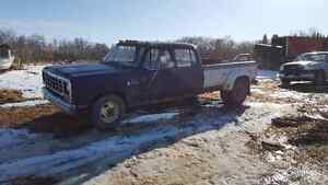 1982 Dodge One Ton Crewcab