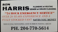 24 hr PLUMBING AND HEATING / SEWER AND DRAIN CLEANING