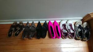 Womens shoes size 7-7.5, $0-20