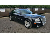 Chrysler 300C 3.0CRD V6 auto grey leather 56 plate