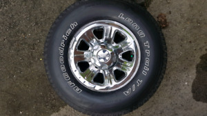 BF GOODRICH - FORD RANGER RIMS