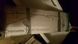 Crometta s 240 showerpipe