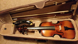 Violin , Long & Mcquade Stentor 4/4 size with extras