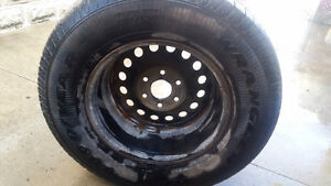 Brand new spare tire and rim London Ontario image 2