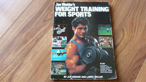 Joe Weiders Weight training for Sports