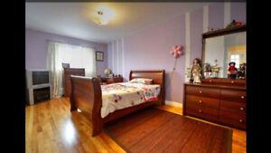 Set de chambre pour enfants lit double