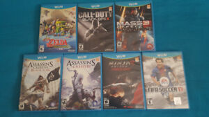 Wii U Games (Zelda, Black Ops 2, Fifa, Mass Effect, and More)
