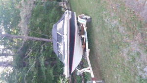 Manitoulin bowrider speed boat for sale.