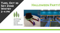 Sky Zone Halloween Party - For Adults w/ Autism + Their Families