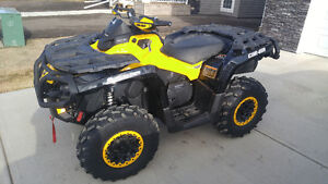 2014 Can-am Outlander 1000 XTP Only 275km