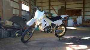1992 wr250z 2 stroke trail bike