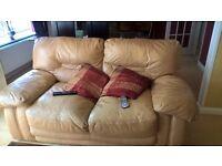 Italian leather sofa set 3+2