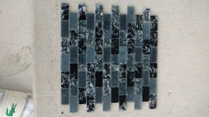 Marble tiles and backsplash. Kitchen/washroom