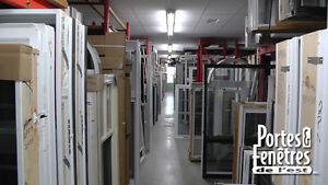 600 fenêtres disponibles dans notre centre de liquidation