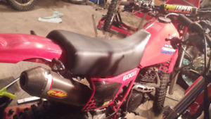 XL 600r. XR600r project bikes $1500 for both
