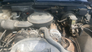 350 small block and transmission