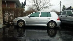 2002 Volkswagen Golf TDI with aniversary trim package.