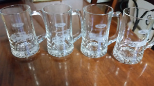 Ford drinking glasses... A set of 4 steins