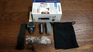 Like New, Unused Sony ECM-HW2 Handycam Bluetooth Microphone Kit