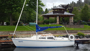 Catalina 22  Full Keel, Pop top, Fuhler with trailer