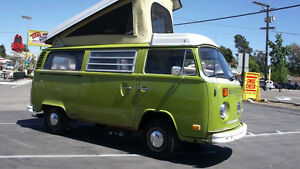 Looking for a vw van , camper style