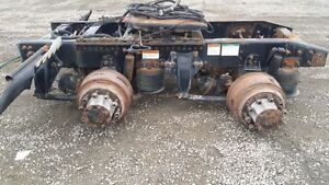 Complete tandem cutoff from 2007 Freightliner CST120