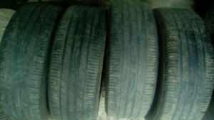 Four 225 55 18 all season tires