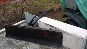 ATV  Snowplow