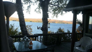 Fabulous Fall Foliage Lakefront Hot Tub Townships Owls Head Memp
