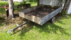 For Sale  All steel framed trailer