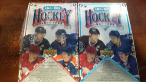 Hockey cards Upper deck 1991-1992 box unopened