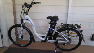 Electric bike.