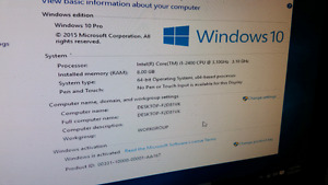 I5 2400 3.1ghz quad core 8gb ram asus mobo n more