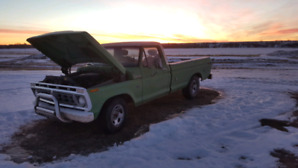 '76 F100  Alberta Agriculture Truck 4th owner **Still Running