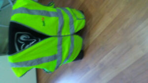 OBO... 2 SAFETY VEST. SELLING AS A PAIR.