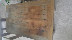 Home crafted barn wood coffee and end table set Moose Jaw Regina Area image 4