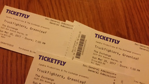 2 tickets for Truckfighters / Yawning man