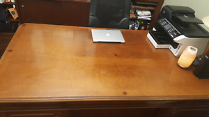 Beautiful Executive desk - solid wood!