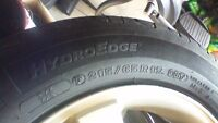 "2009 Dodge Charger 17"" Tires (bolt pattern 5x114.3 )and Rims"