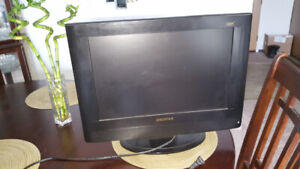 """19"""" TV & stand"""