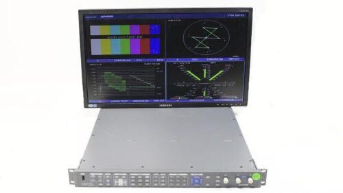 Harris Videotek VTM-4100 PKG Waveform Vector Monitor Opt 10 SD HD A3-OPT-5 ACV-2