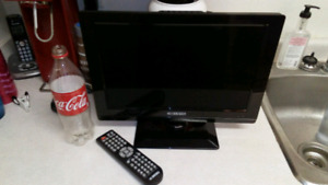 """15.4"""" LCD TV with HDMI & built in DVD player"""