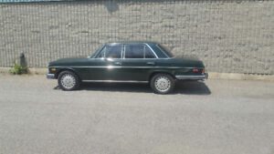 1973 Mercedes 280 twin cam sedan