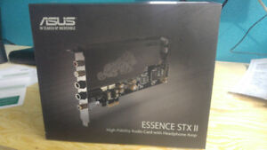 Carte audio Asus Essence STX II