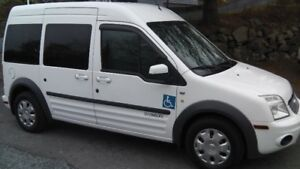Wheelchair Accessible Van 2012 Ford Transit Connect