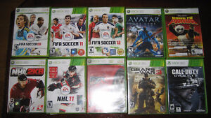 XBOX360 GAMES FOR SALE