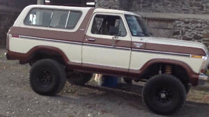 LOOKING FOR 78/79 FORD BRONCO PARTS!!