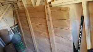 Large and rare - 100 year old antique barn door London Ontario image 2